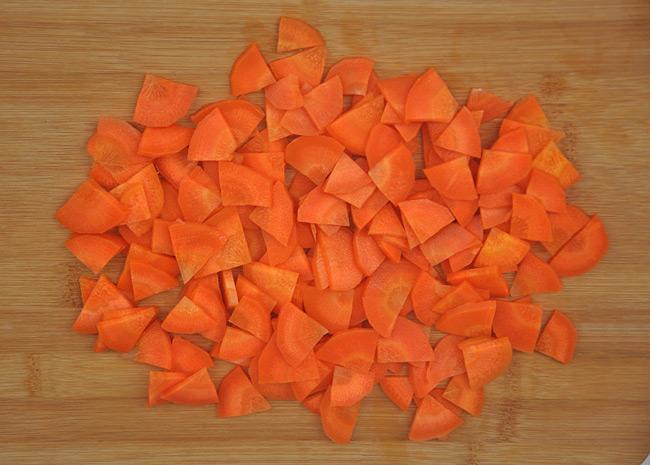 胡萝卜轮切